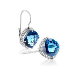 TOPAZ DIAMOND SPECIAL EARRINGS