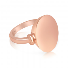 PERFECT PINK GOLD PINKY RING