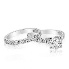 ROUND DIAMOND RING SET