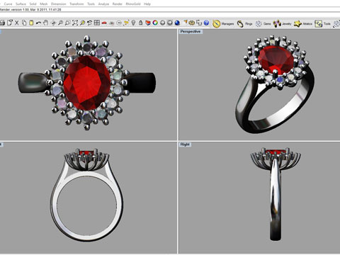 Handcrafted Jewellery V CAD Jewellery (Hand Assembled Jewellery)