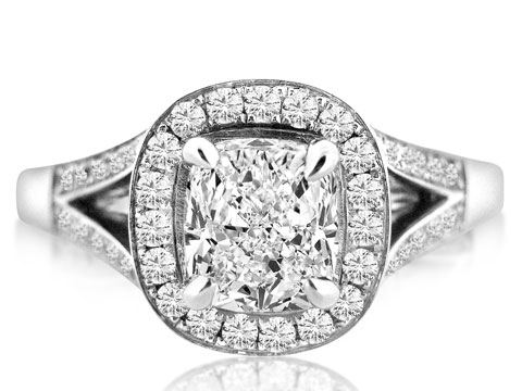 Should I have a cushion cut diamond engagement ring?