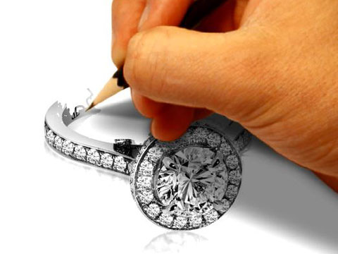 Co-Design your diamond engagement ring at Troy Clancy Jewellery