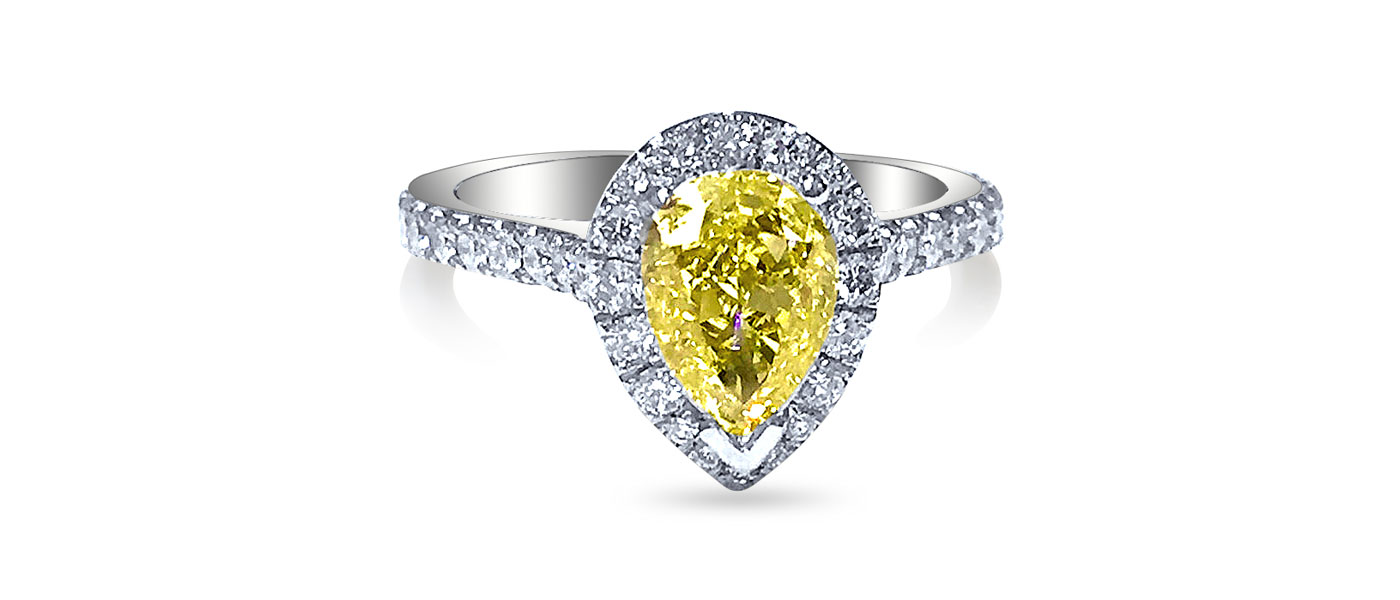 What colours other than pink do diamonds come in?