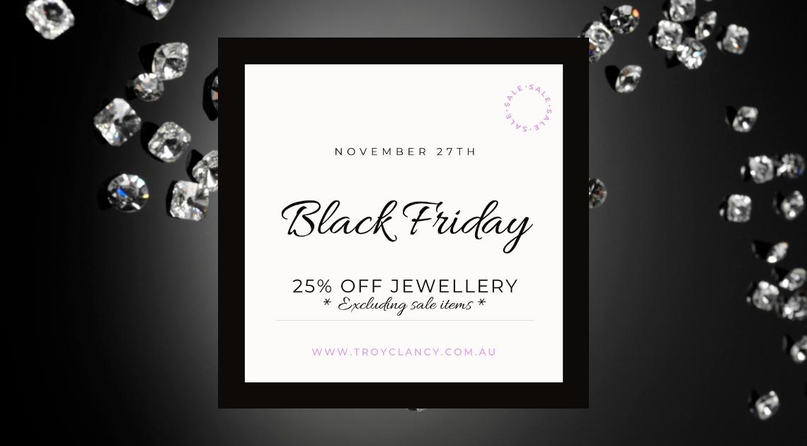 Black Friday Jewellery Sale
